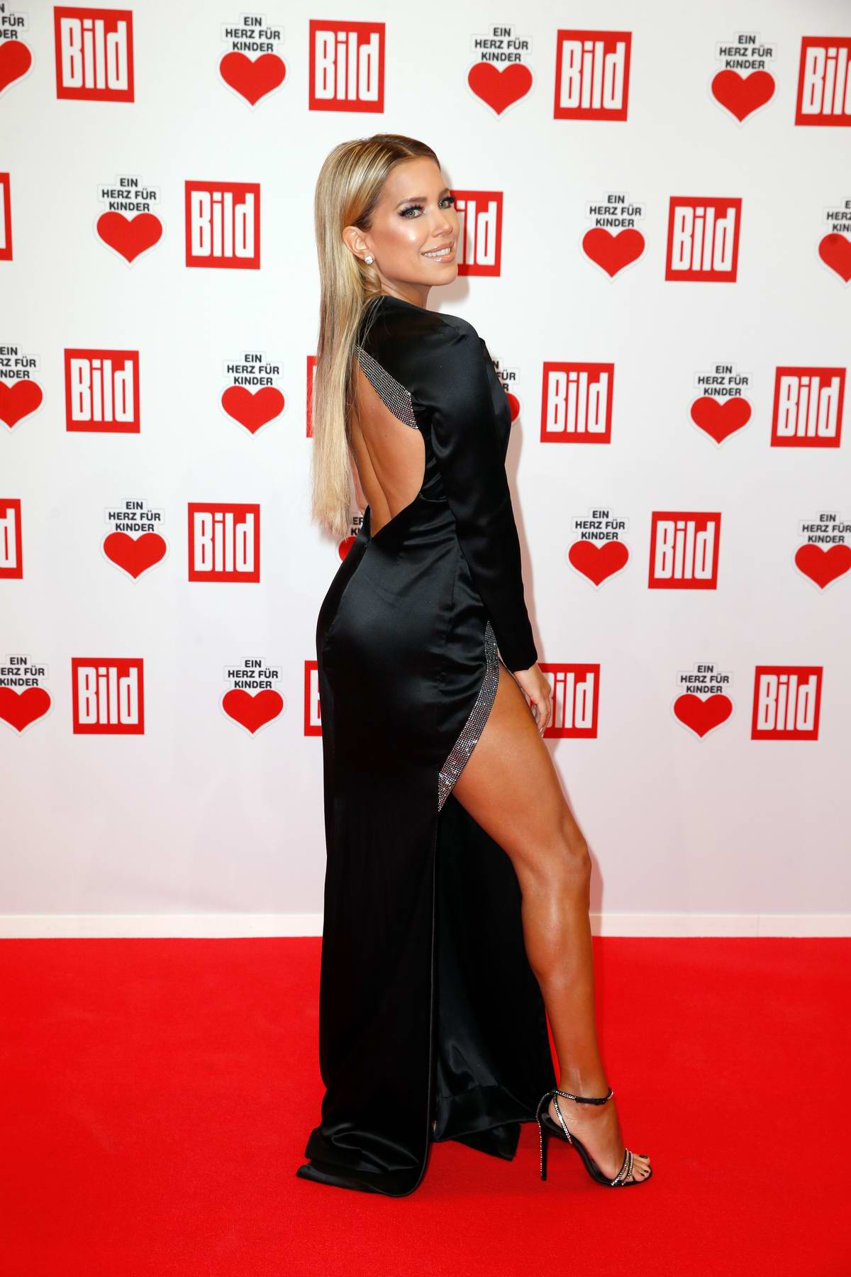 Sylvie Meis attends the annual benefit gala 'A Heart for Children' in Berlin, Germany