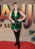 Tallia Storm attends the Premiere of Jumanji: The Next Level in London, UK