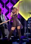 Taylor Swift performs live during the iHeartRadio's Z100 Jingle Ball 2019 at Madison Square Garden in New York City