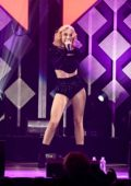 Zara Larsson performs live during 103.5 KISS FM's Jingle Ball 2019 in Chicago, Illinois