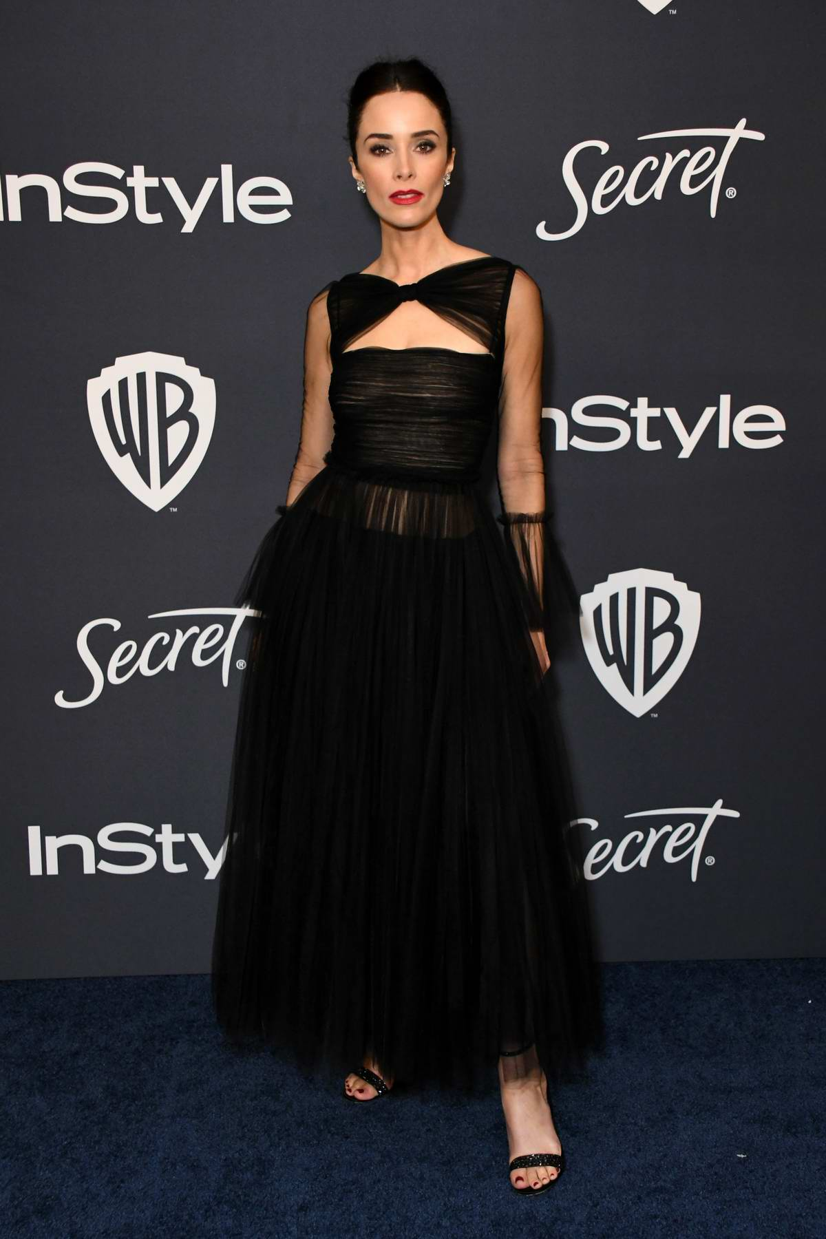 Abigail Spencer attends the 21st annual Warner Bros and InStyle Golden Globe After-Party in Beverly Hills, California