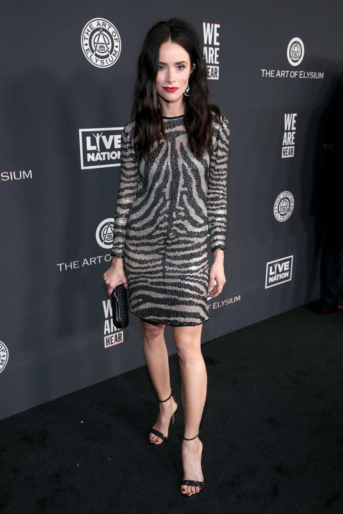 Abigail Spencer attends The Art Of Elysium's 13th Annual Celebration – Heaven at Hollywood Palladium in Hollywood, California