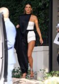 Alessandra Ambrosio looks stunning as she heads for the Grammys, Brentwood, California