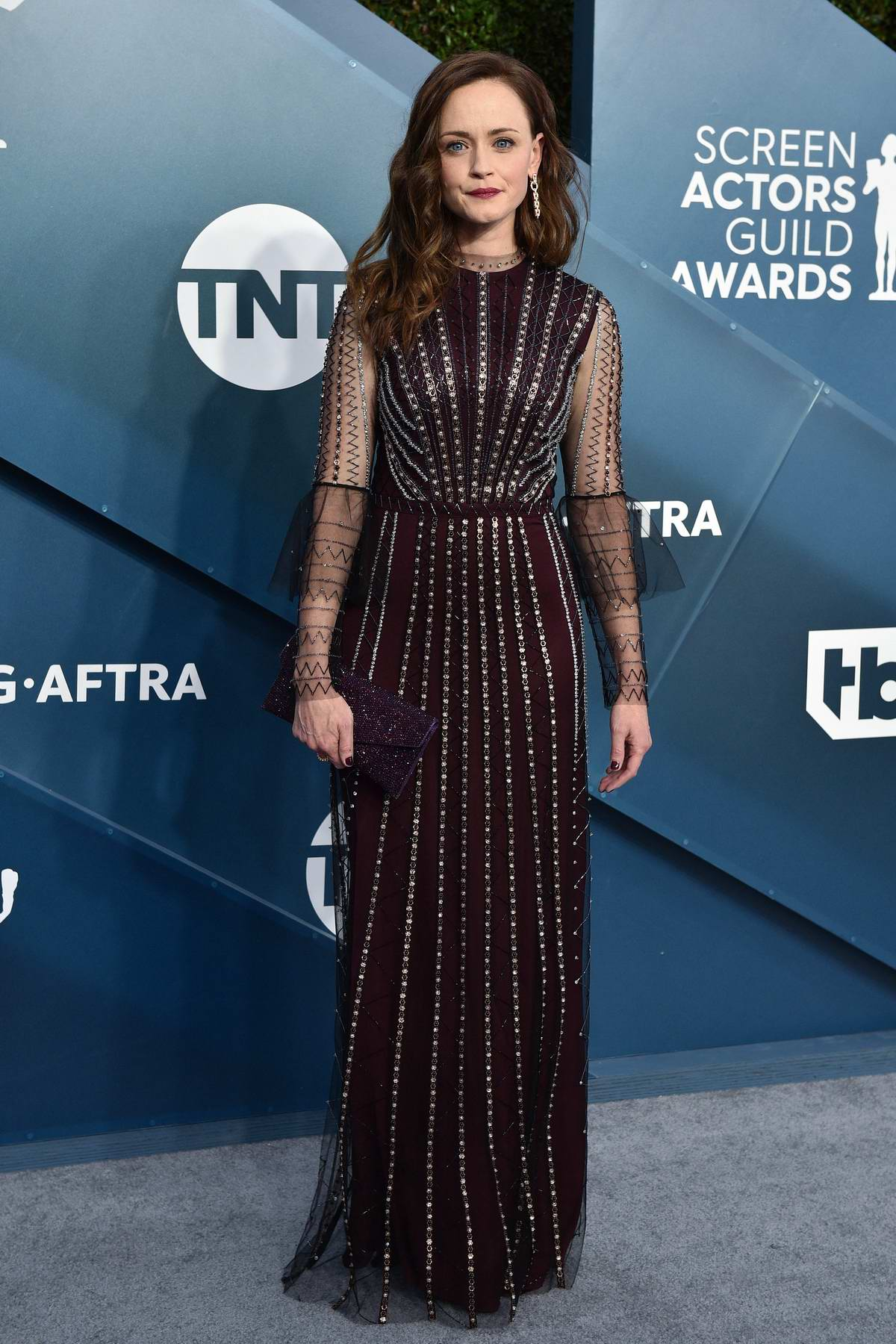 Alexis Bledel attends the 26th Annual Screen Actors Guild Awards at the Shrine Auditorium in Los Angeles