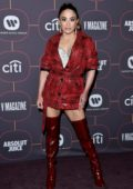 Ally Brooke attends Warner Music Group Pre-Grammy Party 2020 in Hollywood, California