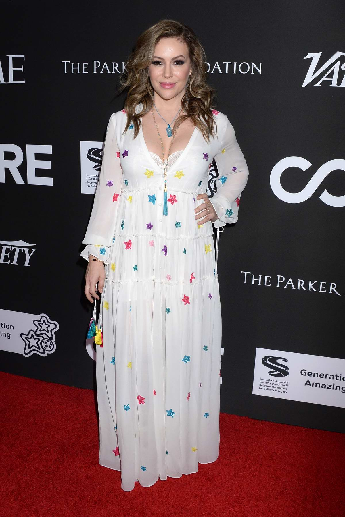 Alyssa Milano attends the 10th Anniversary Gala Benefiting CORE in Los Angeles