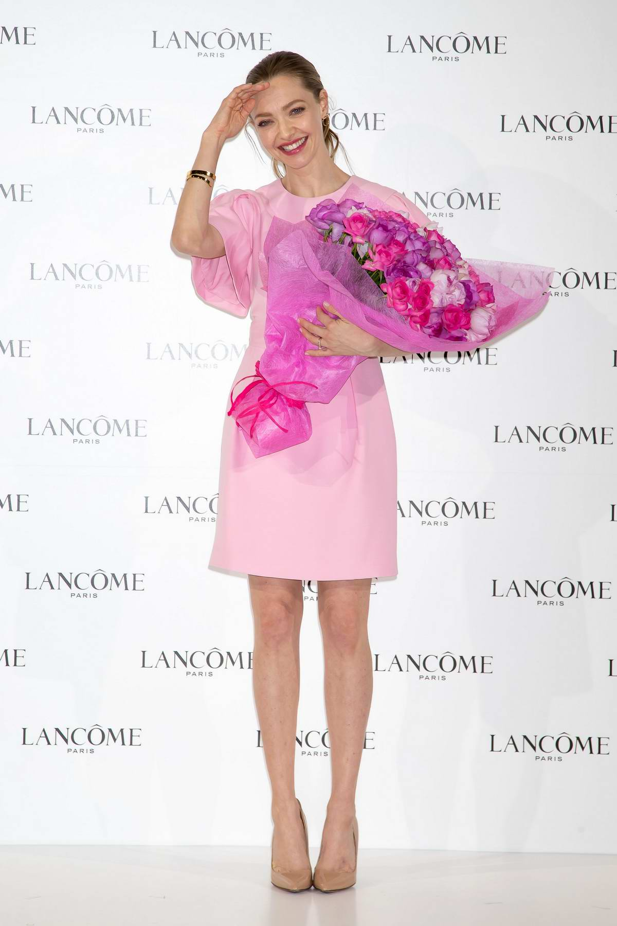 Amanda Seyfried attends 'Lancome' press conference in Tokyo, Japan