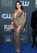 Anne Hathaway attends the 25th Annual Critics' Choice Awards at Barker Hangar in Santa Monica, California