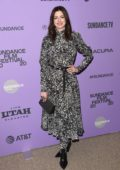 Anne Hathaway attends the Premiere of 'The Last Thing He Wanted' during Sundance Film Festival 2020 in Park City, Utah