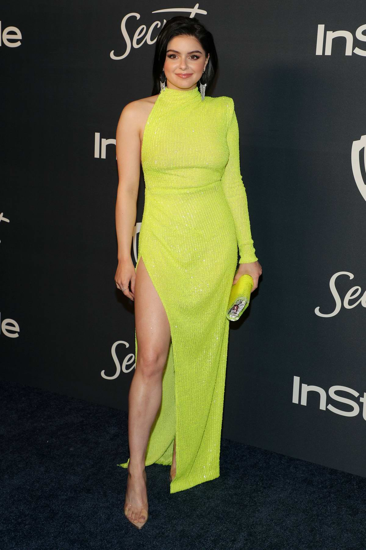 Ariel Winter attends the 21st annual Warner Bros and InStyle Golden Globe After-Party in Beverly Hills, California