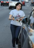 Ariel Winter seen wearing a Disney tee and skin tight jeans as she leaves her acting class in Los Angeles