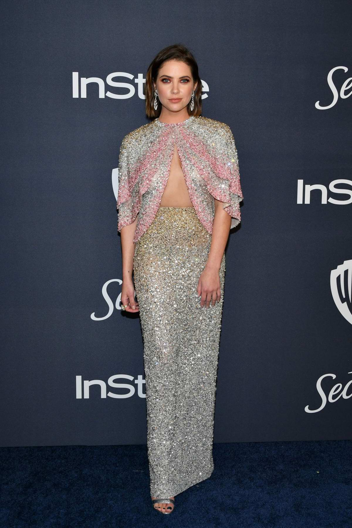 Ashley Benson attends the 21st annual Warner Bros and InStyle Golden Globe After-Party in Beverly Hills, California