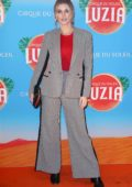 Ashley James attends the London Premiere of Cirque Du Soleil LUZIA at The Royal Albert Hall in London, UK