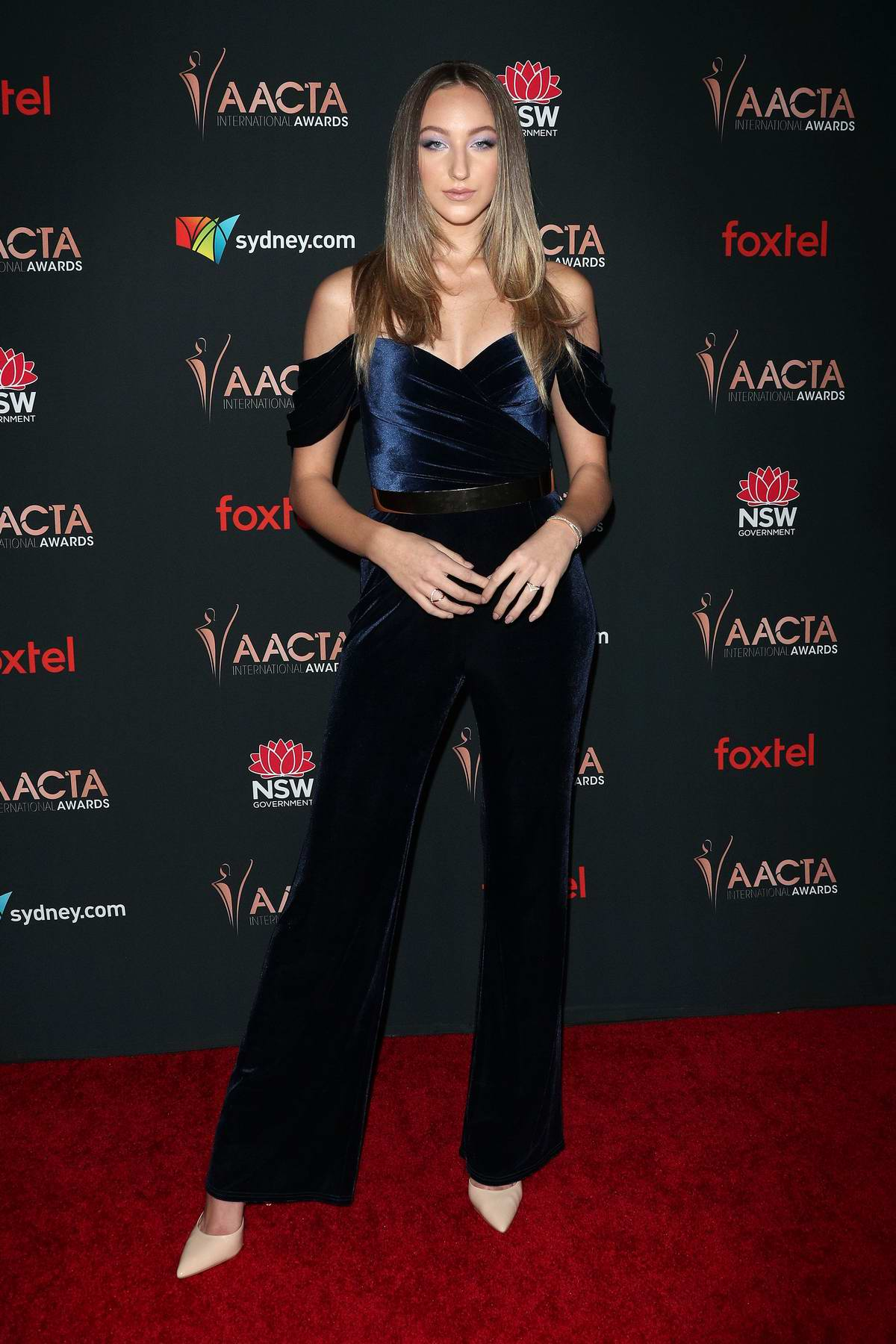 Ava Michelle attends the 9th Annual AACTA International Awards at the Mondrian Los Angeles