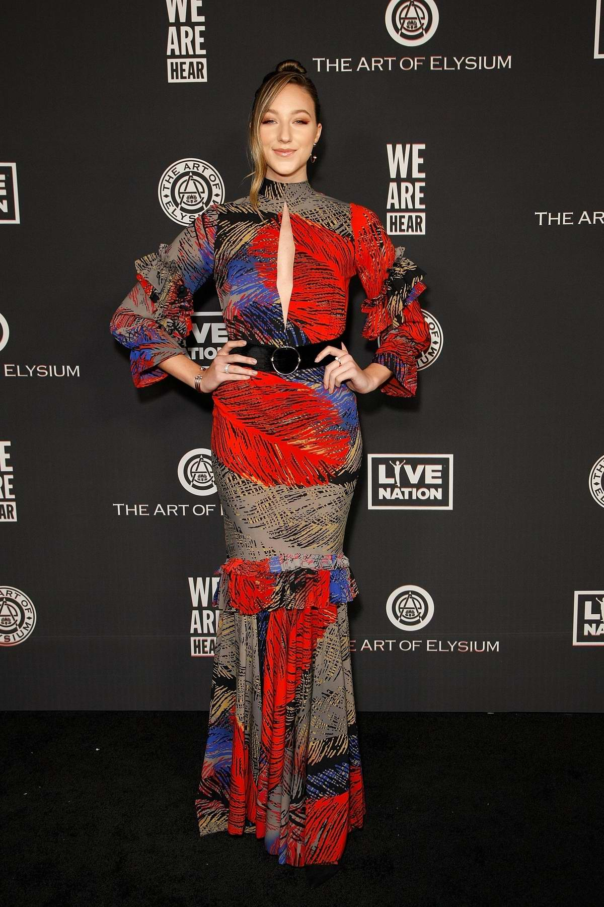 Ava Michelle attends The Art Of Elysium's 13th Annual Celebration – Heaven at Hollywood Palladium in Hollywood, California