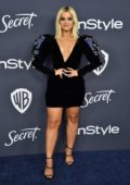 Bebe Rexha attends the 21st annual Warner Bros and InStyle Golden Globe After-Party in Beverly Hills, California