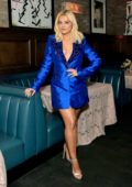 Bebe Rexha attends the 3rd Annual 'Women in Harmony' Pre-Grammy Luncheon in Los Angeles