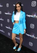 Becky G attends the Instagram + Facebook Women in Music Luncheon at Ysabel in West Hollywood, California