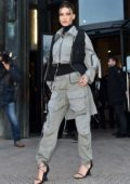 Bella Hadid keeps it stylish as she arrives at the Palais De Tokyo during Paris Men's Fashion Week 2020 in Paris, France