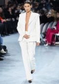 Bella Hadid walks the runway during the Alexandre Vauthier Haute Couture Spring/Summer 2020 show in Paris, France
