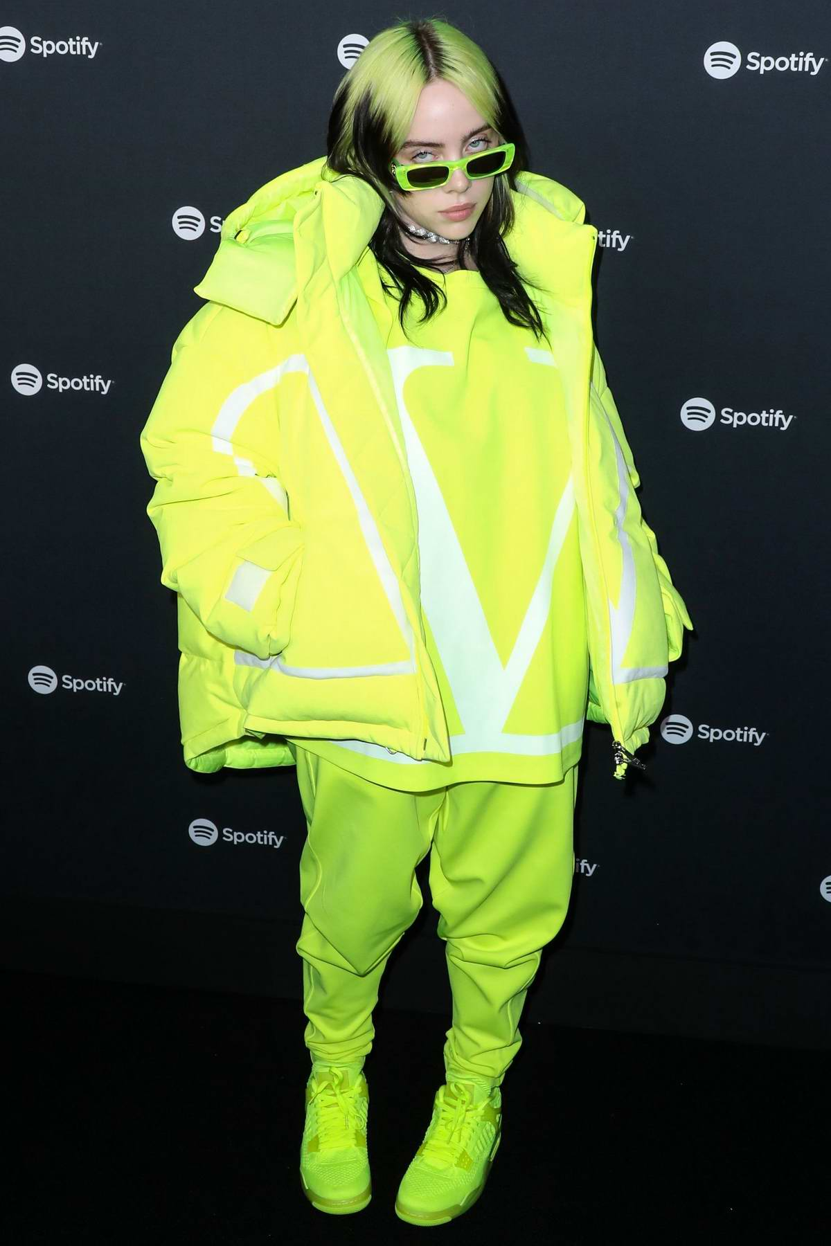 Billie Eilish attends the Spotify 'Best New Artist' Party 2020 in Los Angeles