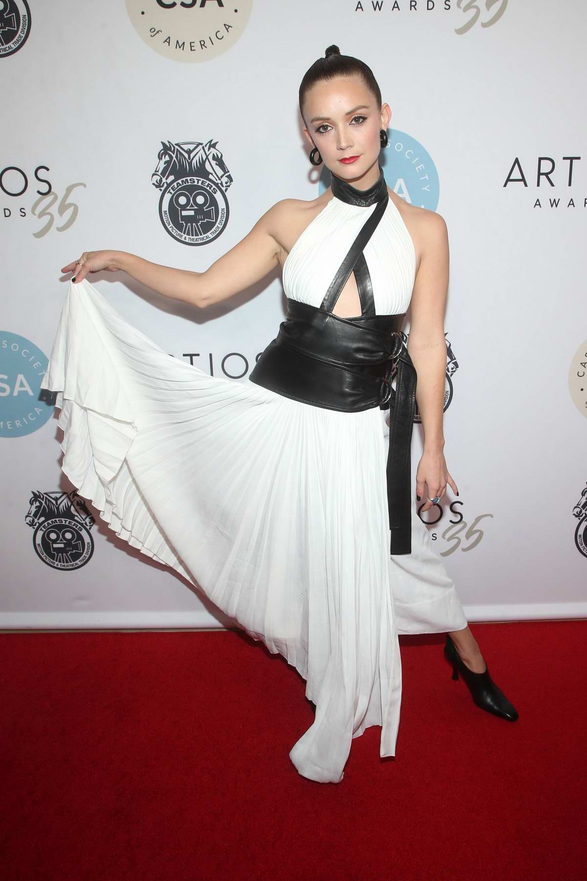 Billie Lourd attends the 2020 Casting Society of America's Artios Awards at Beverly Hilton Hotel in Beverly Hills, California