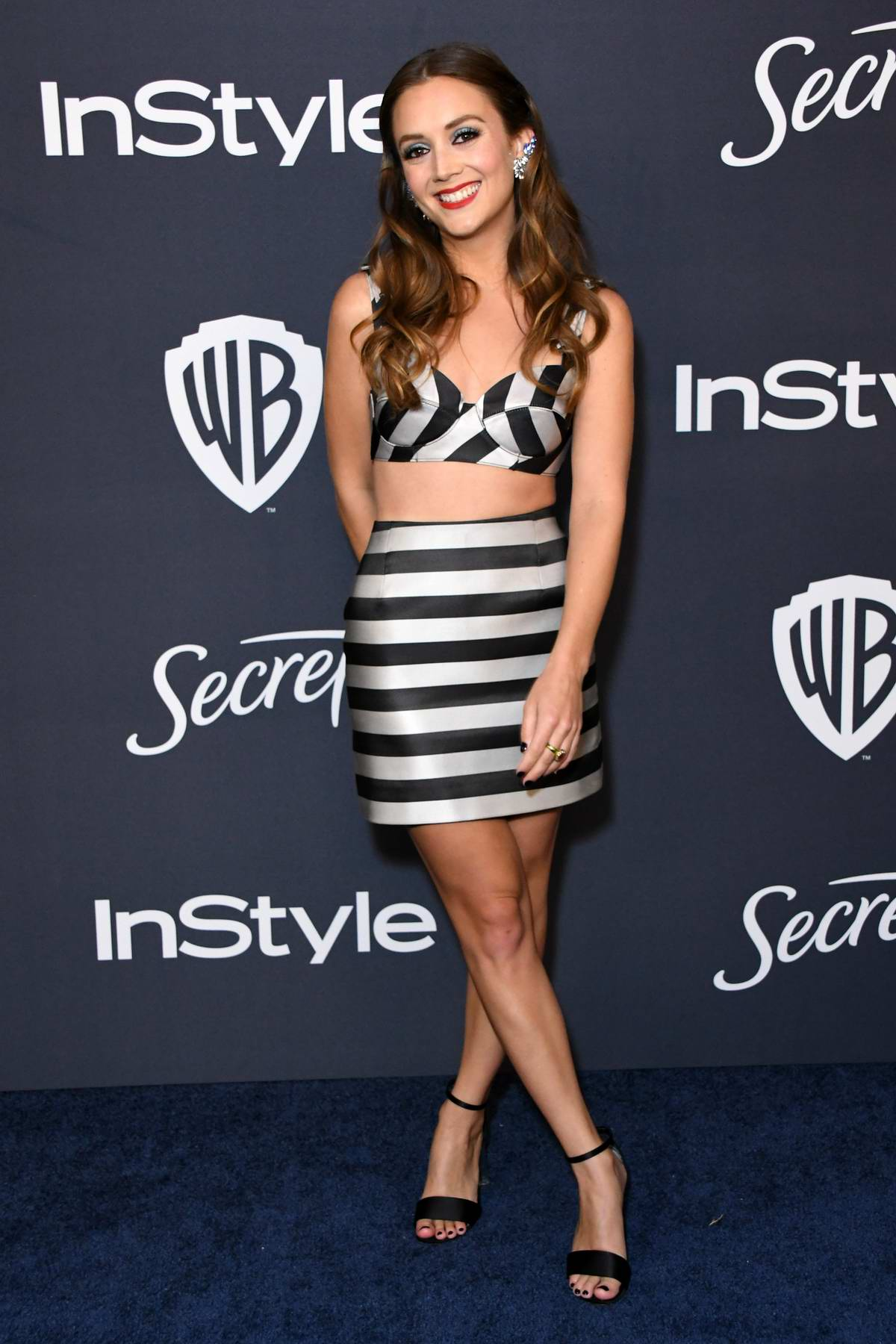 Billie Lourd attends the 21st annual Warner Bros and InStyle Golden Globe After-Party in Beverly Hills, California