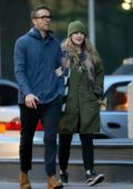 Blake Lively and Ryan Reynolds step out for a stroll in New York City