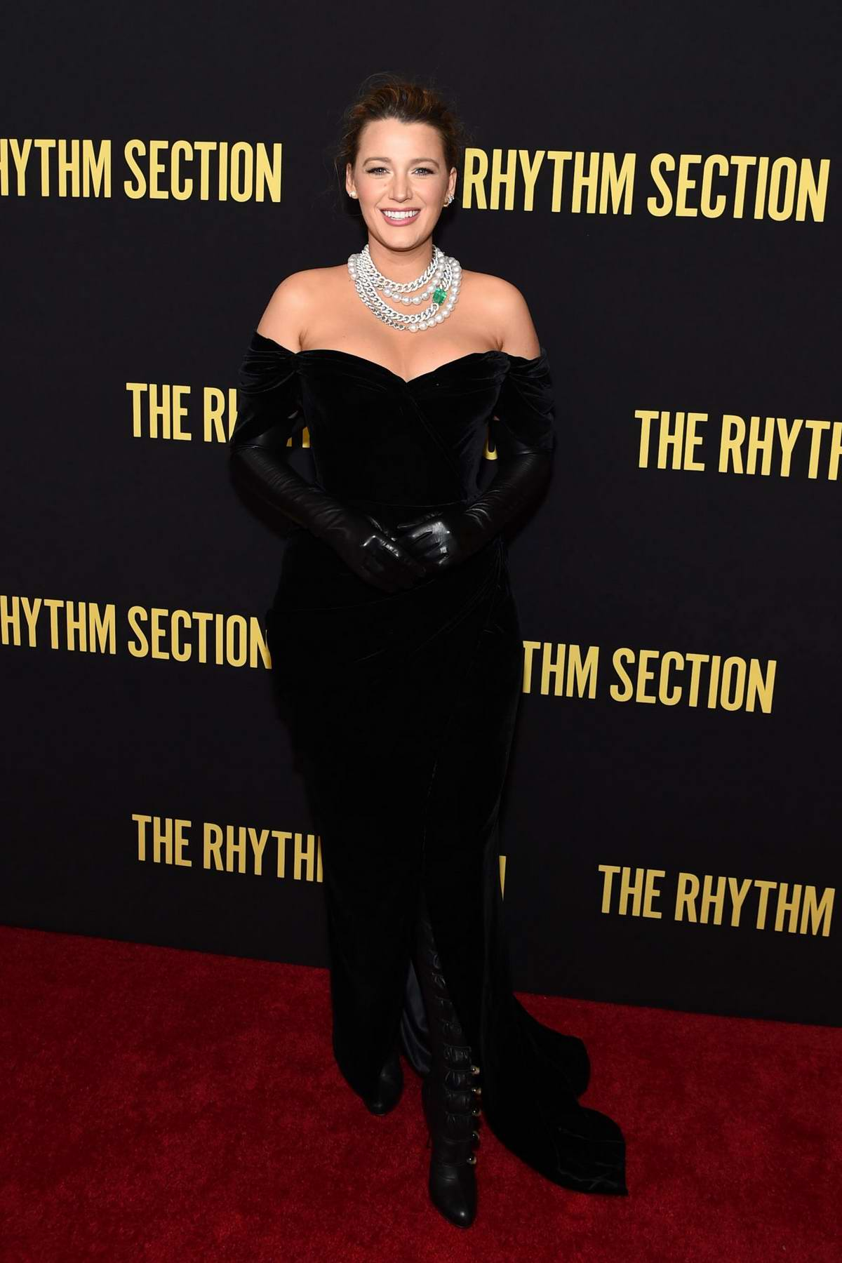 Blake Lively attends the screening of 'The Rhythm Section' in New York City