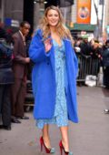 Blake Lively sports multiple outfits while visiting 'Good Morning America' in New York City