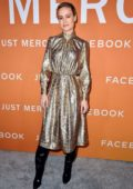 Brie Larson attends a screening of 'Just Mercy' at Cinemark Baldwin Hills in Los Angeles