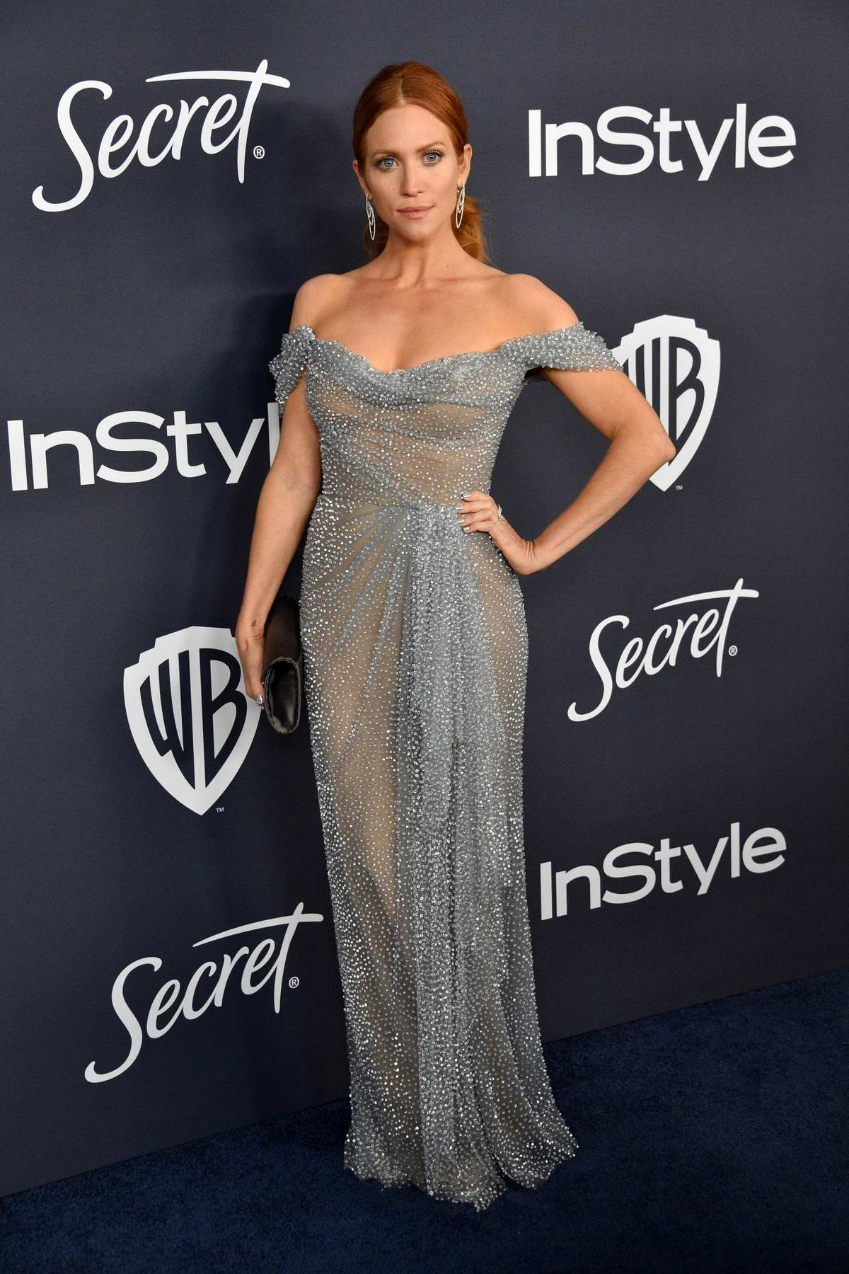Brittany Snow attends the 21st annual Warner Bros and InStyle Golden Globe After-Party in Beverly Hills, California