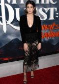 Caitlin McGee attends the Premiere of Apple TV+'s 'Mythic Quest: Raven's Banquet' in Hollywood, California