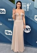 Camila Mendes attends the 26th Annual Screen Actors Guild Awards at the Shrine Auditorium in Los Angeles