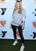 Camille Kostek attends the California Strong Celebrity Softball Game in Malibu, California