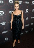 Camille Kostek attends Warner Music Group Pre-Grammy Party 2020 in Hollywood, California