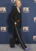 Cate Blanchett attends the FX Networks Winter TCA Starwalk in Pasadena, California