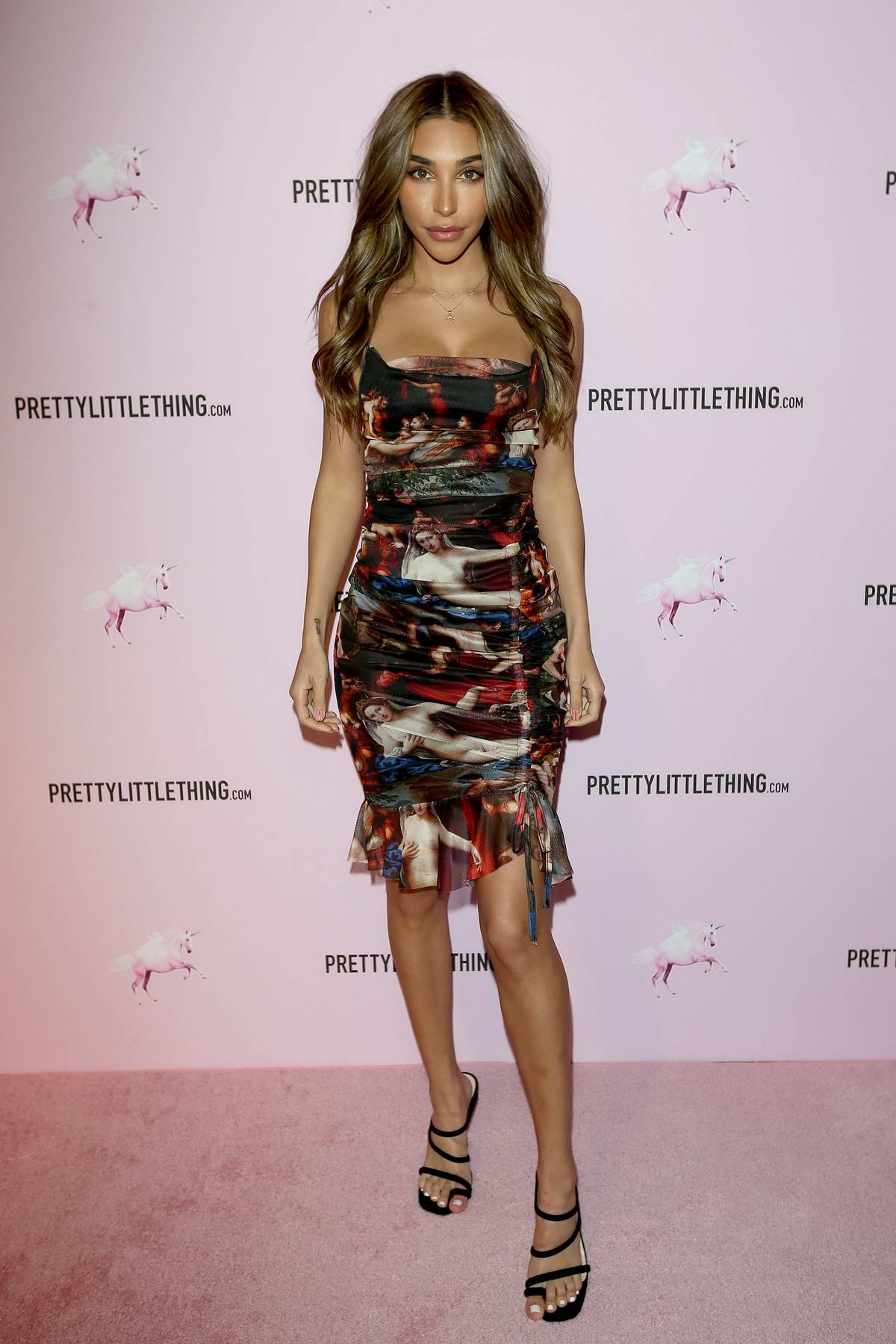 Chantel Jeffries attends PrettyLittleThing x Chantel Jeffries launch event in Los Angeles