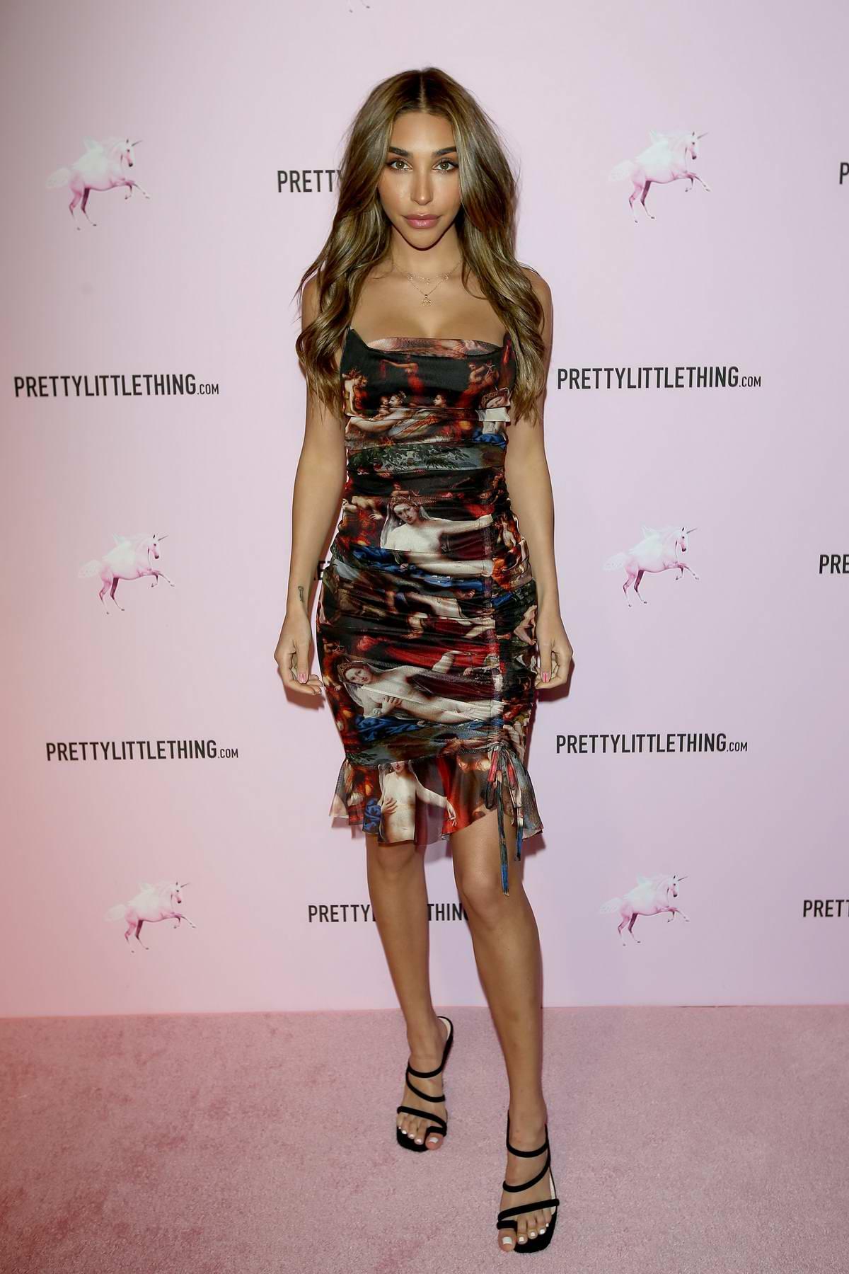 Chantel Jeffries attends PrettyLittleThing x Chantel Jeffries launch event in Los Angeles