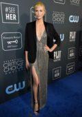Charlize Theron attends the 25th Annual Critics' Choice Awards at Barker Hangar in Santa Monica, California