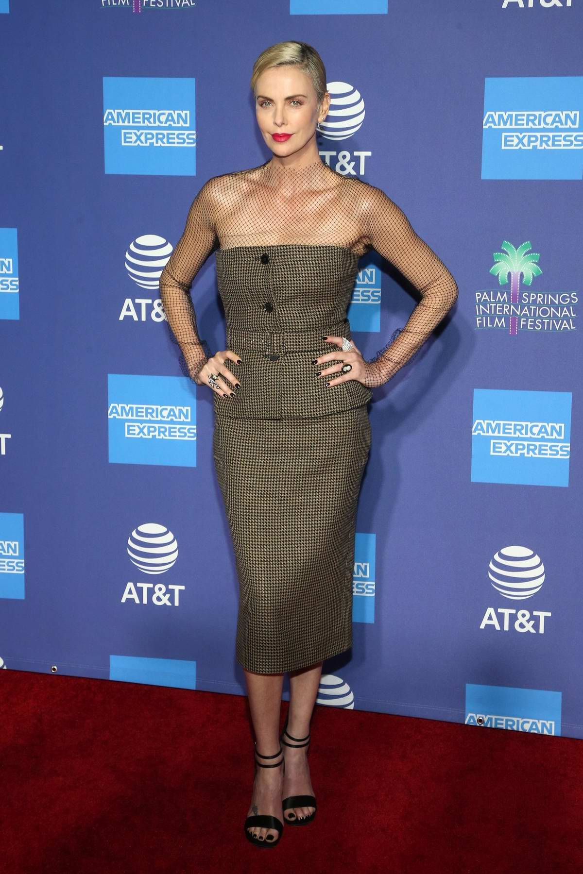 Charlize Theron attends the 31st Annual Palm Springs International Film Festival Gala in Palm Springs, California