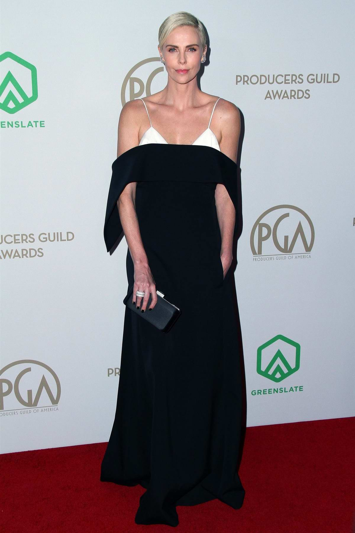 Charlize Theron attends the 31st Annual Producers Guild Awards in Los Angeles
