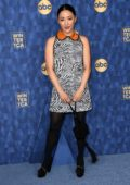 Constance Wu attends ABC's Winter Press Tour 2020 at The Langham in Pasadena, California