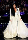 Demi Lovato performs onstage during the 62nd Annual Grammy Awards at Staples Center in Los Angeles