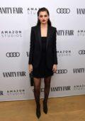 Diana Silvers attends The Vanity Fair x Amazon Studios 2020 Awards Season Celebration in West Hollywood, California