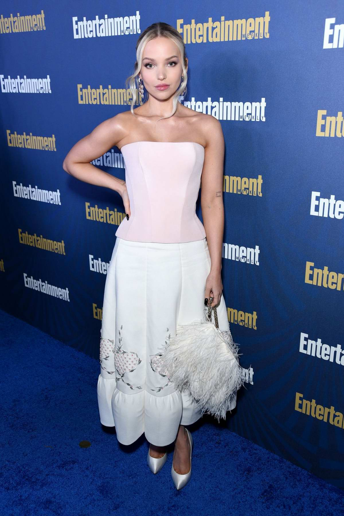Dove Cameron attends Entertainment Weekly Celebrates the SAG Award Nominees in Los Angeles