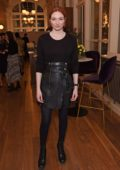 Eleanor Tomlinson attends the press night pre-show reception for 'La Boheme' at The Royal Opera House in London, UK