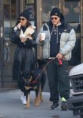 Emily Ratajkowski steps out for some morning coffee and snacks with Sebastian Bear-McClard in New York City