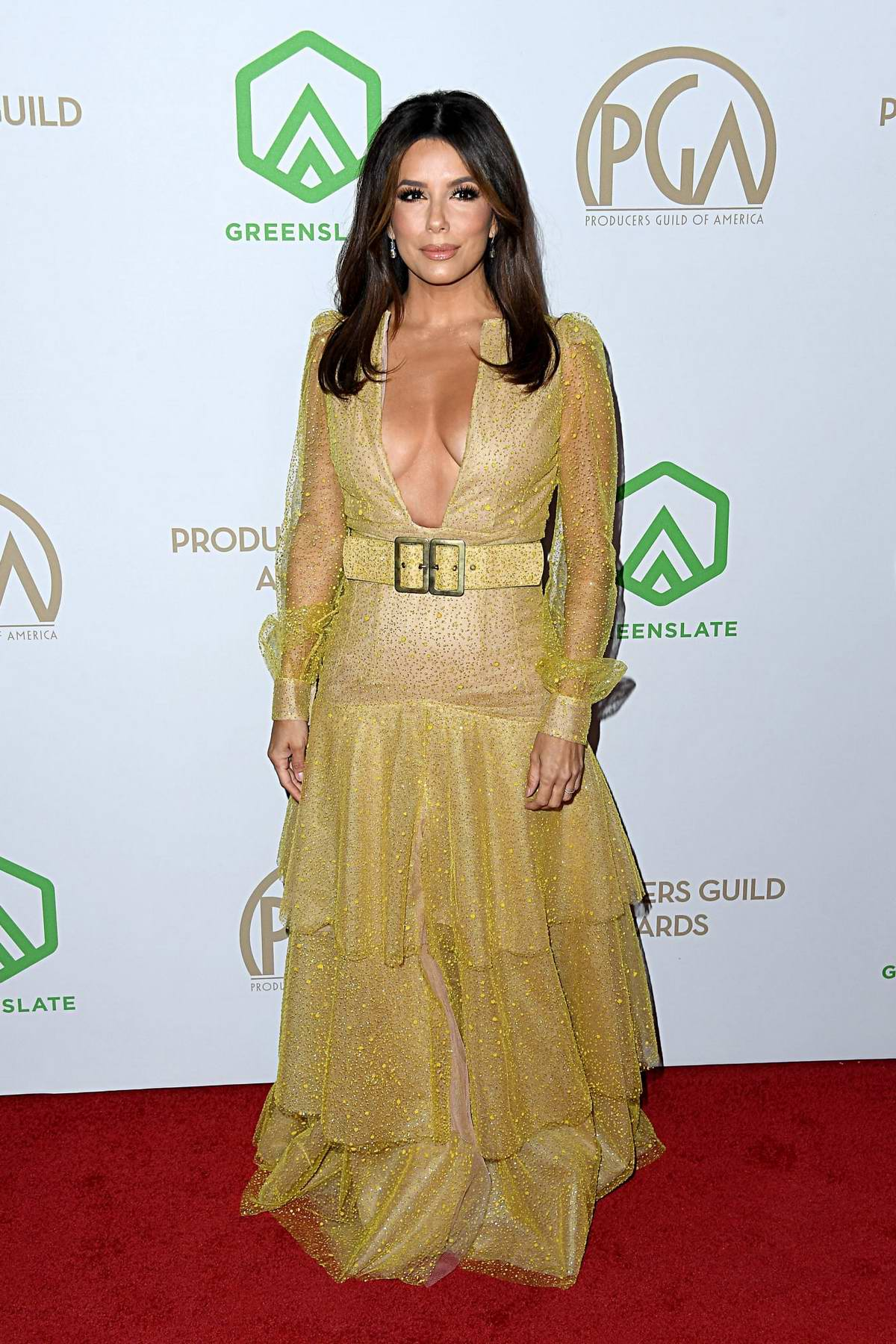 Eva Longoria attends the 31st Annual Producers Guild Awards in Los Angeles