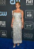 Florence Pugh attends the 25th Annual Critics' Choice Awards at Barker Hangar in Santa Monica, California